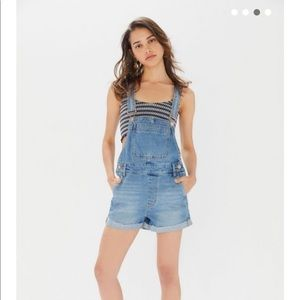 NWT BDG Urban Outfitters overall shorts